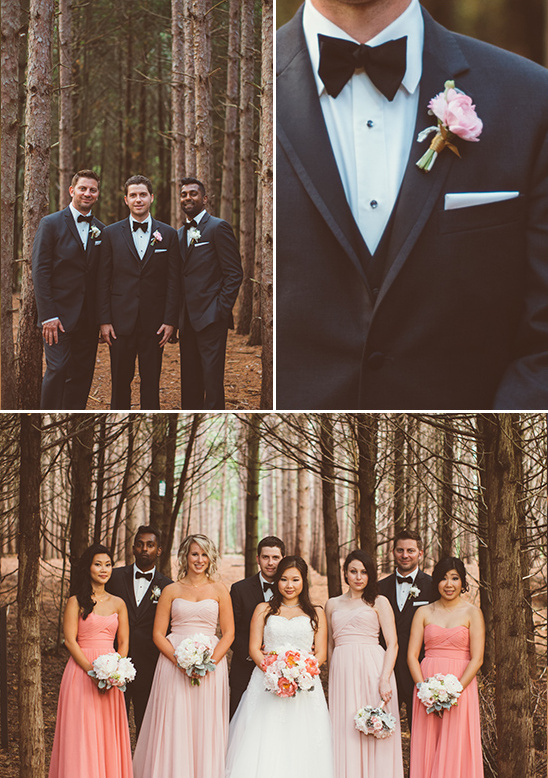 groomsmen details and wedding party