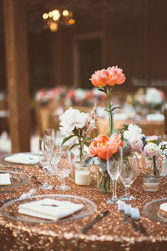 sparkle table decor