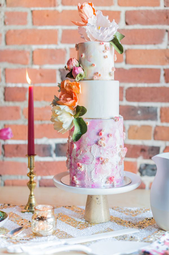 wedding cake by The Cake Whisperer