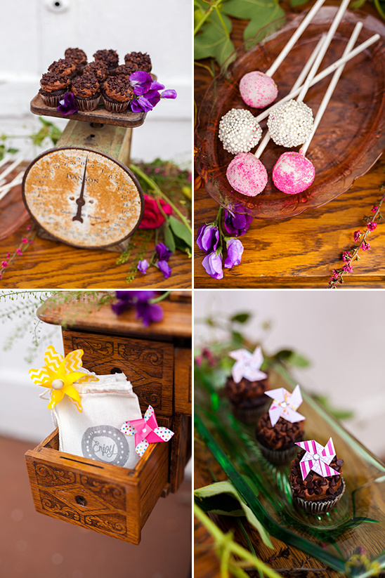Bold and whimsical wedding ideas pinwheel wedding ideas whimsical wedding cake junglespirit Image collections