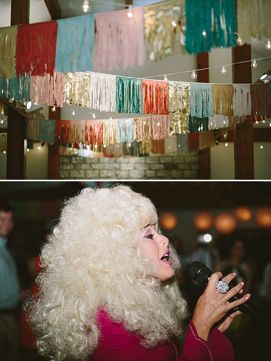wedding music by Dolly Parton Impersonator