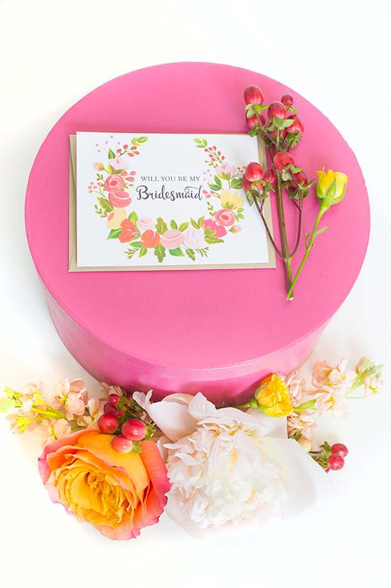 DIY bridesmaid box ideas @weddingchicks