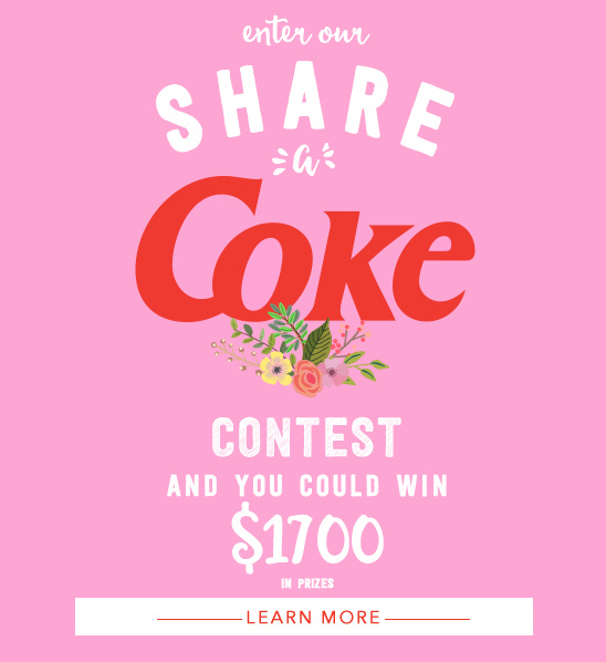 Share a Coke Contest @weddingchicks