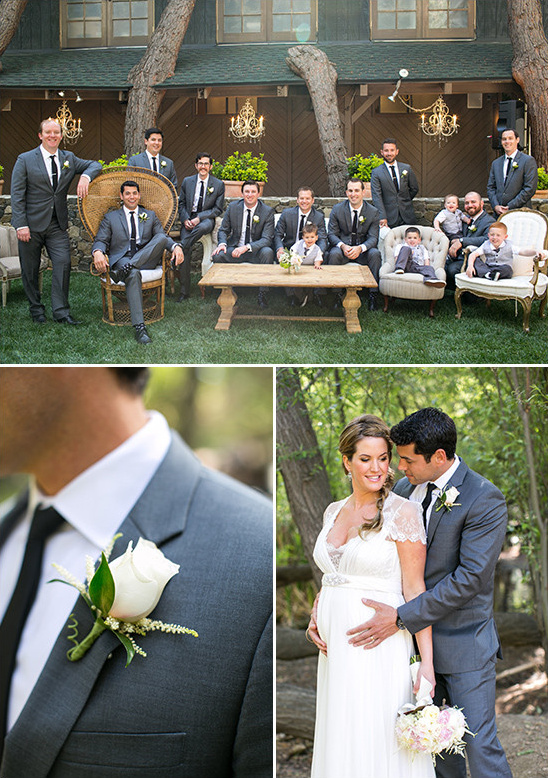 characoal groomsmen suits @weddingchicks