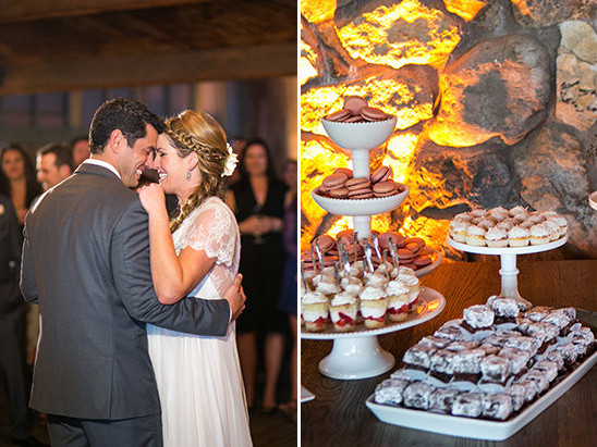 wedding dance and desserts @weddingchicks
