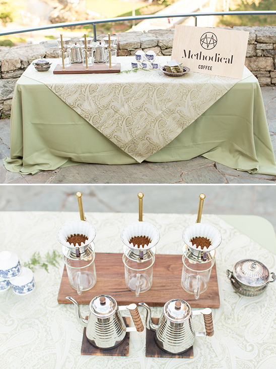 Methodical Coffee coffee bar @weddingchicks