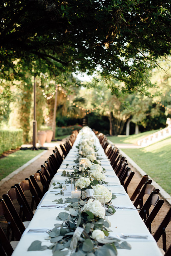 single table wedding reception @weddingchicks