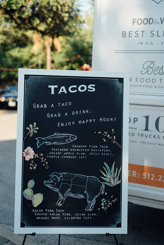 tacos wedding menu idea @weddingchicks