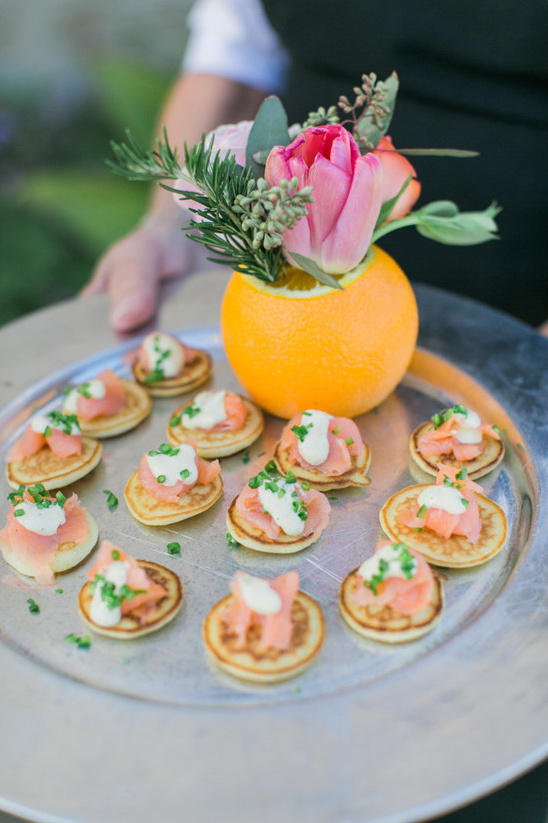 savory wedding appetizers @weddingchicks