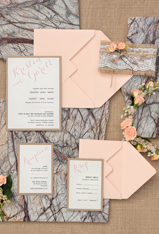 peaach rustic wedding ideas @weddingchicks