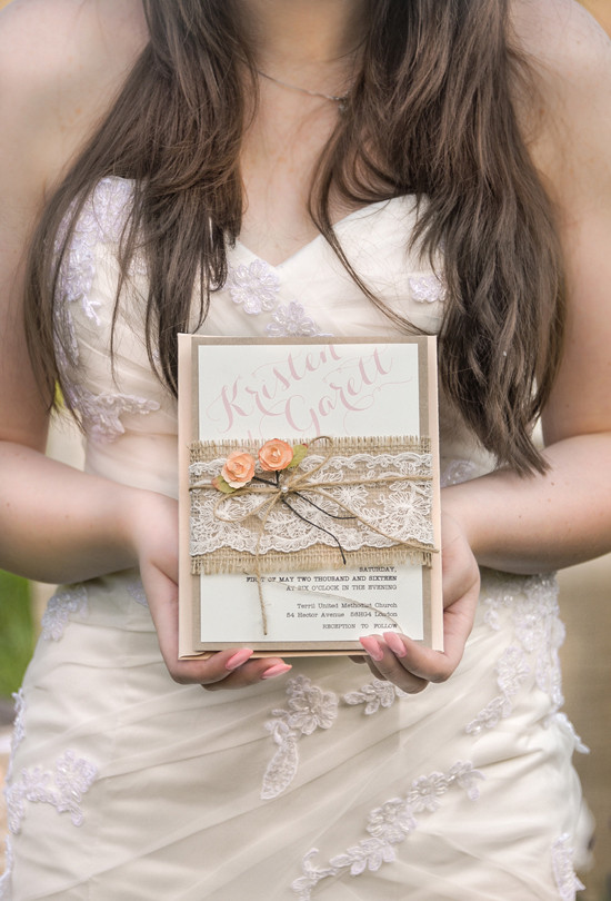 rustic peach wedding ideas @weddingchicks