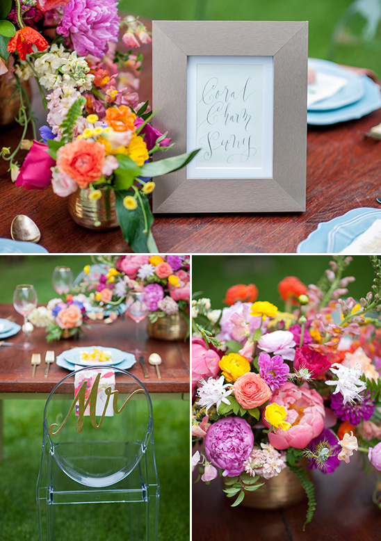 reception table decor ideas @weddingchicks