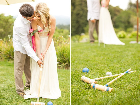 reception lawn game ideas @weddingchicks