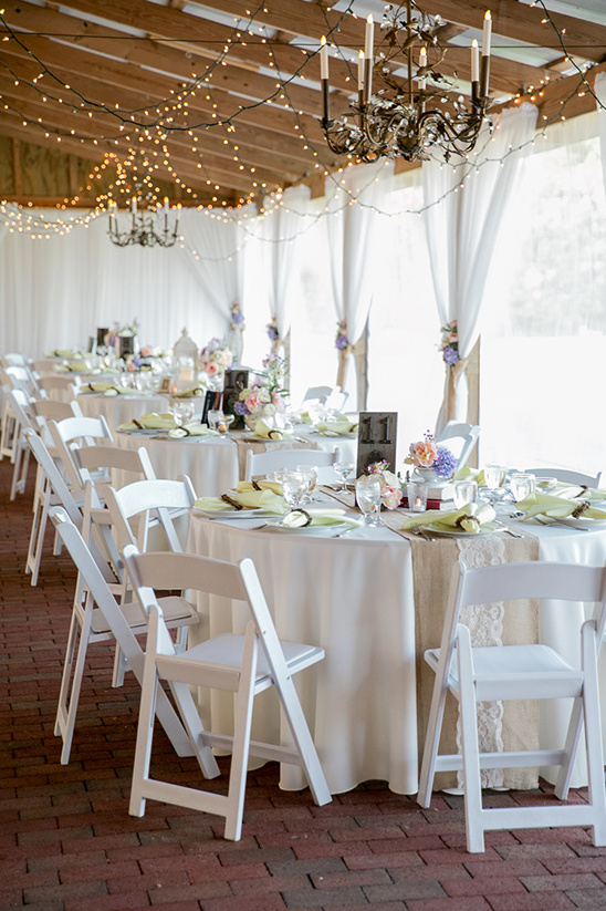 reception tablescape ideas @weddingchicks