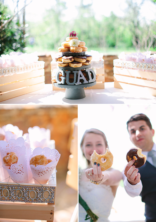donut dessert bar @weddingchicks