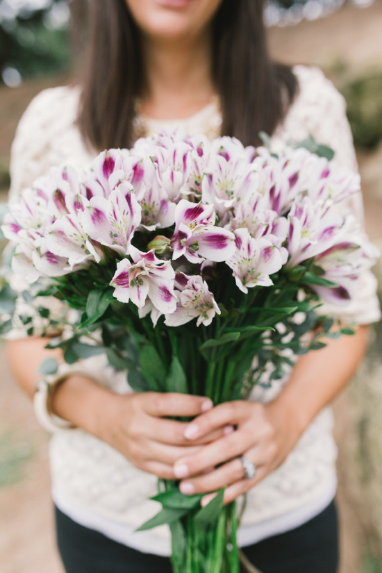 Locally grown blooms from Orange County's Christa Rose @weddingchicks