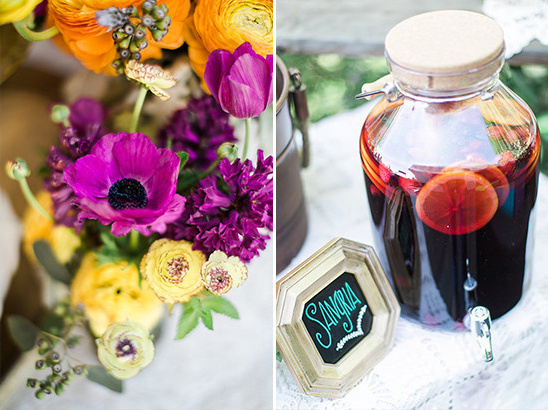wedding sangria @weddingchicks