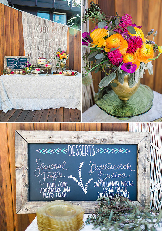 rustic southwestern dessert table @weddingchicks
