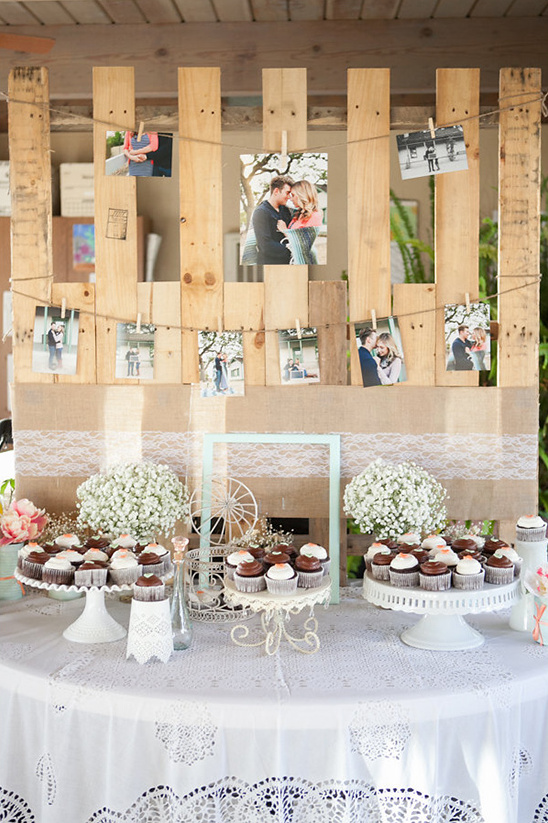 cupcake table ideas @weddingchicks