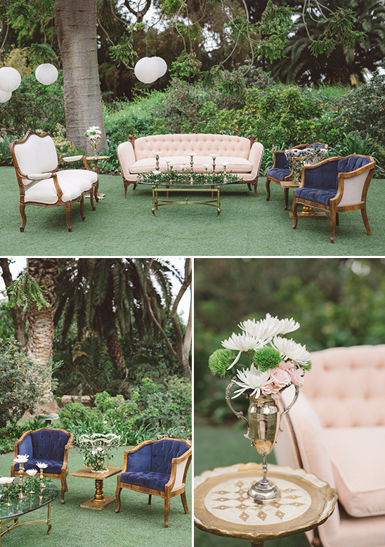 cute and comfy seating area @weddingchicks