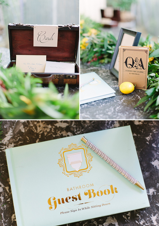 unique guestbook idea @weddingchicks