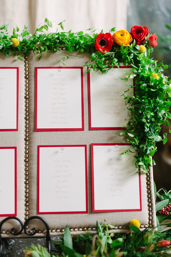 seating chart idea @weddingchicks