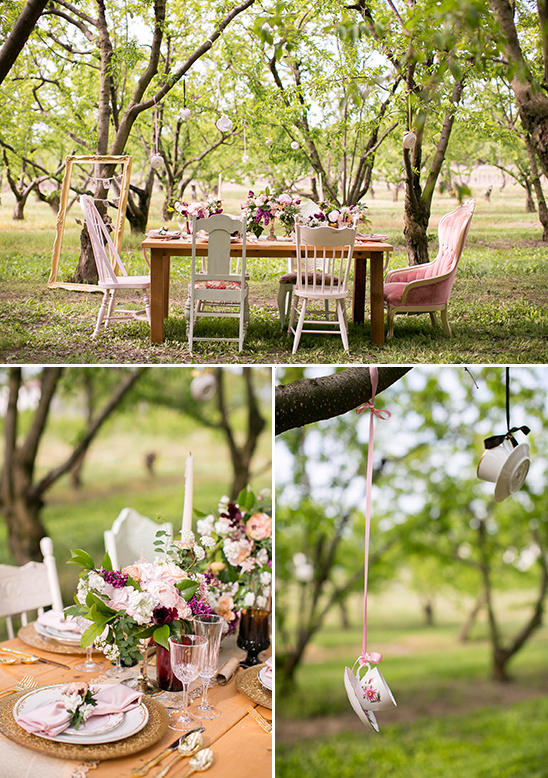 tea inspired wedding reception ideas @weddingchicks