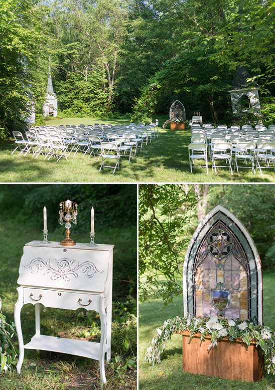 wedding ceremony decor @weddingchicks