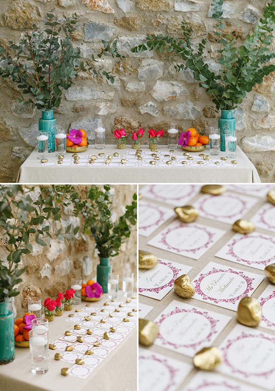 escort card table ideas @weddingchicks