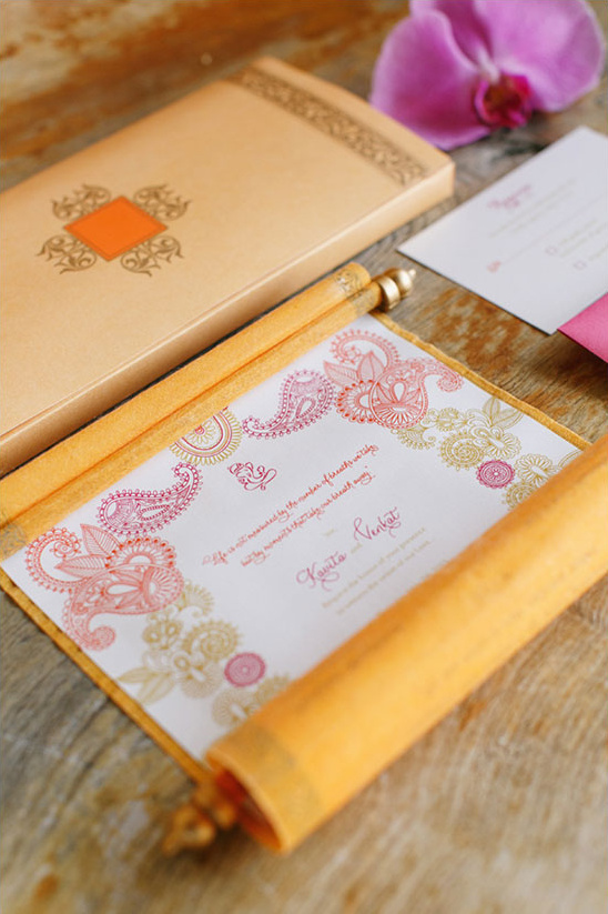 wedding invitation idea @weddingchicks