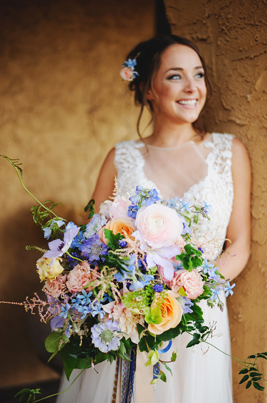 warm summer bouquet @weddingchicks