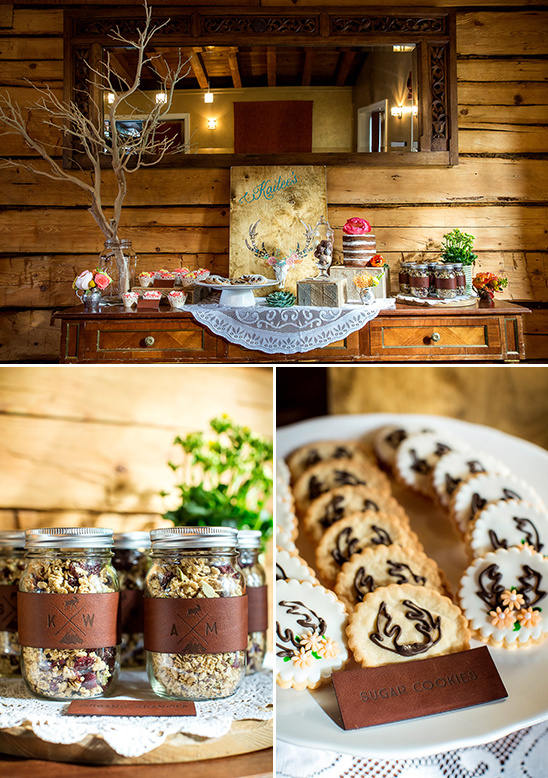 rustic dessert bar ideas @weddingchicks