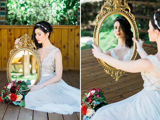 mirror wedding decor @weddingchicks