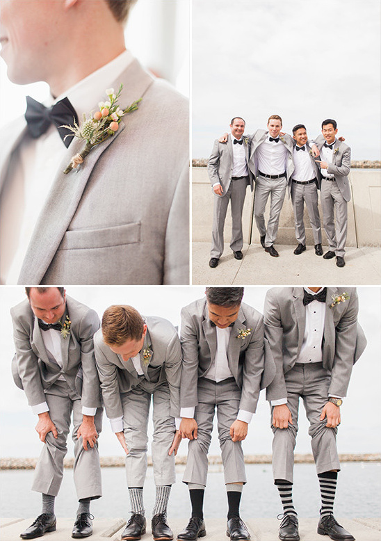 black white and grey groomsmen look @weddingchicks