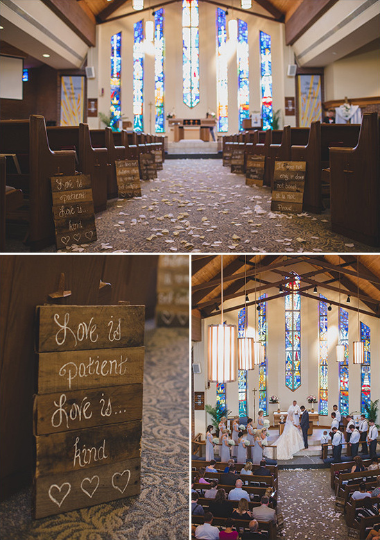 chapel wedding @weddingchicks
