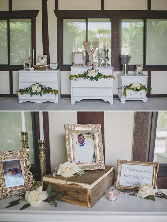 memorial table @weddingchicks