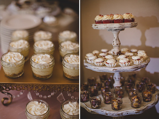 cute mini desserts @weddingchicks