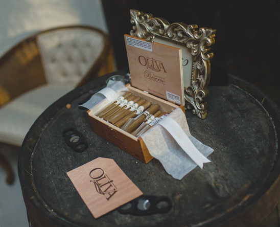 cigar favors @weddingchicks