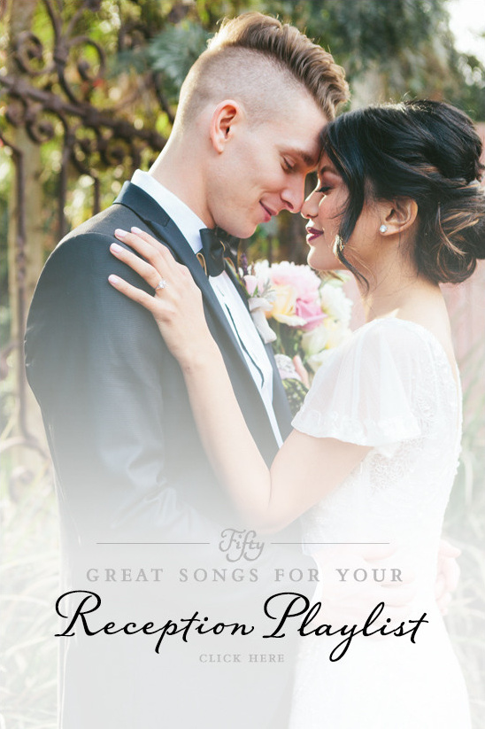50 great songs for your reception playlist here @weddingchicks