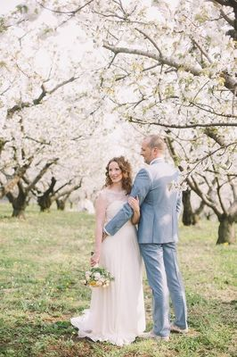 Blossoming Romance in Northern Italy