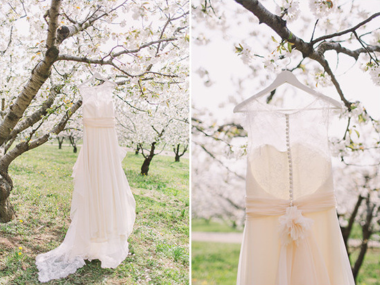 wedding dress by Sara Radice @weddingchicks