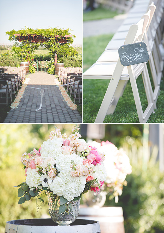 outdoor ceremony decor @weddingchicks