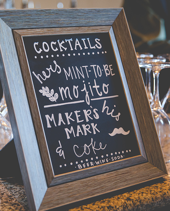 signature cocktail ideas @weddingchicks