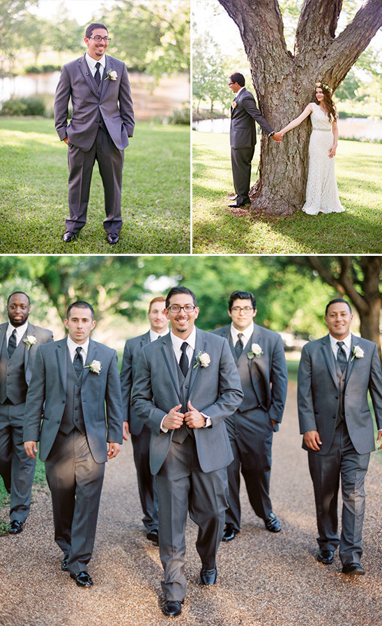 groom in charcoal grey @weddingchicks