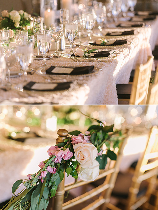 chair floral decor @weddingchicks