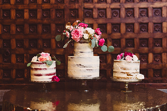half naked wedding cakes @weddingchicks