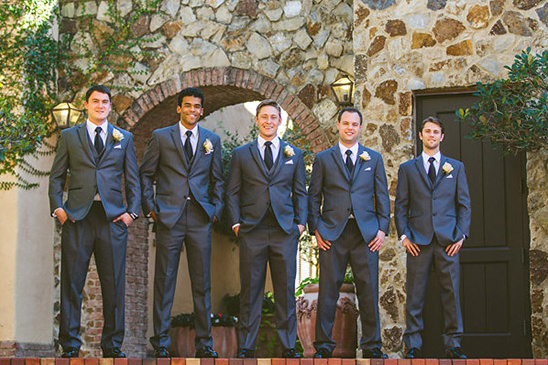 classic groomsmen attire @weddingchicks