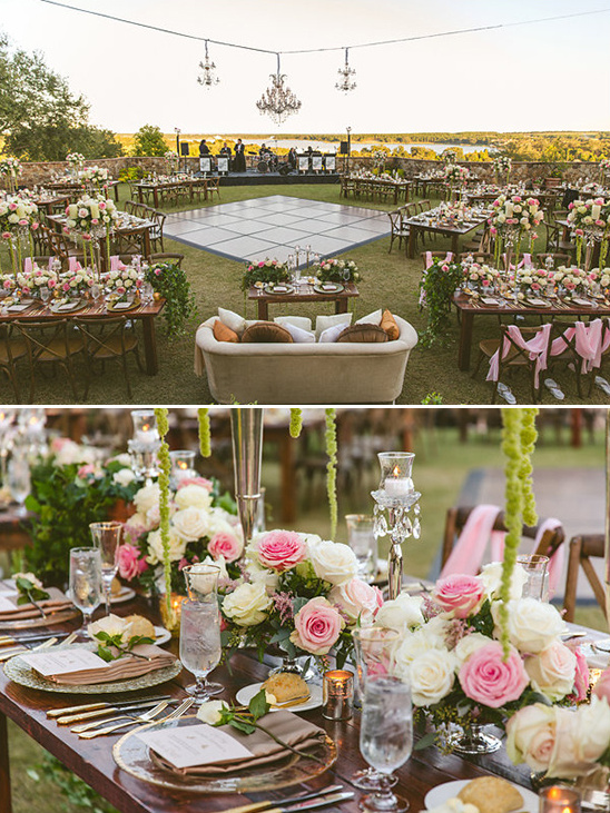 wedding reception layout idea @weddingchicks