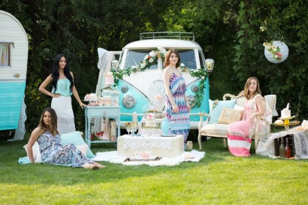 Will You Be My Boho Bridal Party