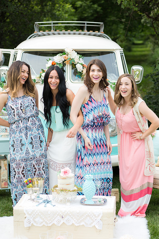 boho bridal shower @weddingchicks